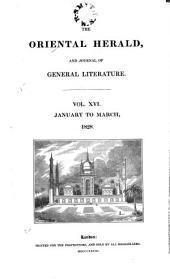 The Oriental Herald: Volume 16