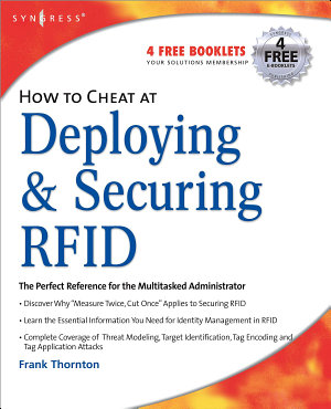 How to Cheat at Deploying and Securing RFID PDF