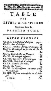 Memoires pour servir à l'histoire de madame de Maintenon, et à celle du siecle passé: Volumes1à6