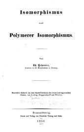 Isomorphismus und polymer isomorphismus...