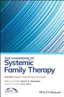 The Handbook of Systemic Family Therapy  Systemic Family Therapy with Couples PDF