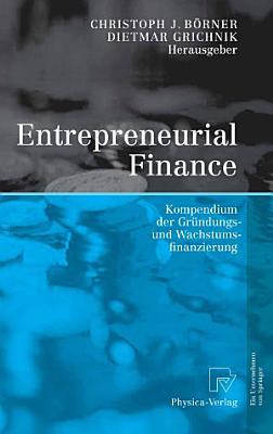 Entrepreneurial Finance PDF