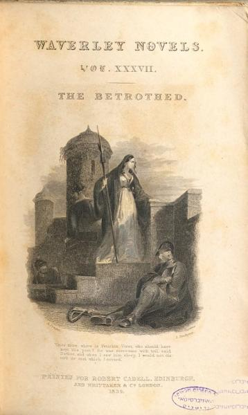 Download The Waverley Novels  The betrothed  1834 Book