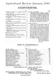 Agricultural Review and Journal of the American Agricultural Association PDF