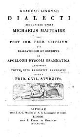 Graecae linguae dialecti
