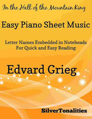 In the Hall of the Mountain King Easy Piano Sheet Music PDF