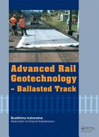 Advanced Rail Geotechnology   Ballasted Track PDF