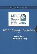 Chemistry Mtle Expanded Study Guide Access Code Card  Grades 9 12