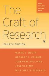 The Craft Of Research Fourth Edition Book PDF
