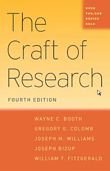 The Craft of Research  Fourth Edition PDF