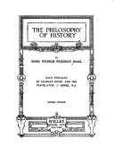 Download The Philosophy of History Book
