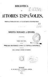 Novelistas posteriores a Cervantes: con un bosquejo sobre la novela española, Volumen 2