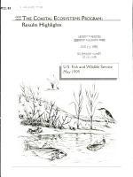 The Coastal Ecosystems Program PDF
