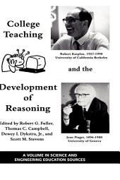 College Teaching and the Development of Reasoning