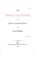 La Famille de Curione: récit du seizième siècle