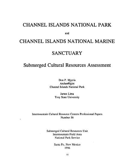 Channel Islands National Park and Channel Islands National Marine Sanctuary PDF