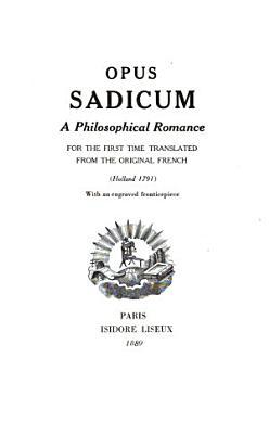 Opus Sadicum PDF