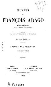 Oeuvres complétes de François Arago: Volume8