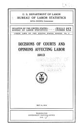 Labor laws of the United States series: Issues 4-5
