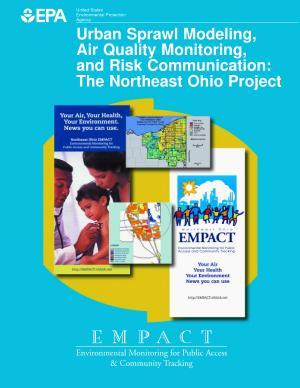 Urban Sprawl Modeling  Air Quality Monitoring  and Risk Communication PDF