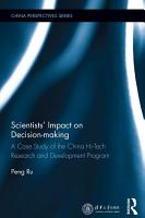 Scientists  Impact on Decision making PDF