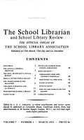 School Librarian and School Library Review PDF