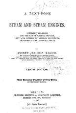 Text book on Steam and Steam Engines PDF