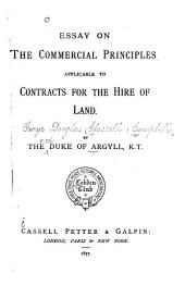 Essay on the Commercial Principles Applicable to Contracts for the Hire of Land