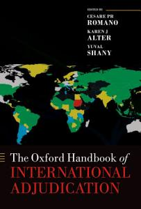 The Oxford Handbook of International Adjudication PDF