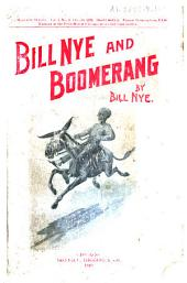 Bill Nye and Boomerang, Or The Tale of a Meek-eyed Mule: And Some Other Literary Gems