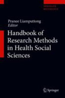 Handbook of Research Methods in Health Social Sciences PDF