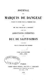 Journal du marquis de Dageneau: 1711-1713
