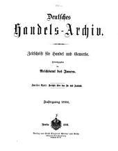 Deutsches Handels-archiv: Bände 1-2