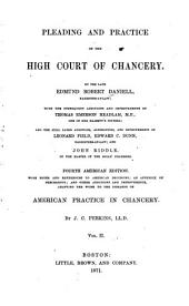 Pleading and Practice of the High Court of Chancery: Volume 2