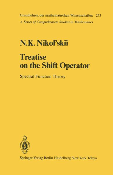 Download Treatise on the Shift Operator Book