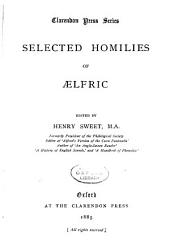 Selected Homilies of Aelfric