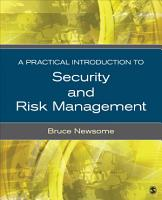 A Practical Introduction to Security and Risk Management PDF