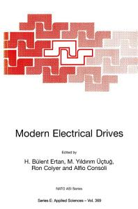 Modern Electrical Drives PDF