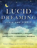 Lucid Dreaming  Plain and Simple PDF