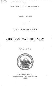 Report of Progress of the Division of Hydrography for the Calendar Years 1893-1895
