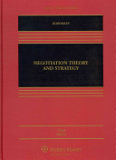 Negotiation Theory and Strategy