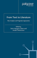 From Text to Literature PDF