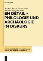 En d  tail     Philologie und Arch  ologie im Diskurs PDF