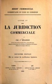 De la juridiction commerciale