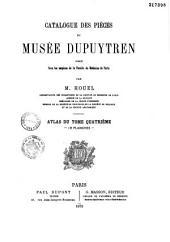 Catalogue des pièces du musée Dupuytren