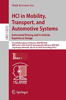 HCI in Mobility  Transport  and Automotive Systems