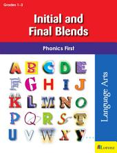 Initial and Final Blends: Phonics First