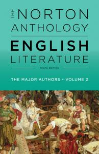 The Norton Anthology of English Literature  The Major Authors Book