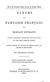 Fleurs Du Parnasse Français
