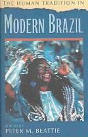 The Human Tradition in Modern Brazil PDF